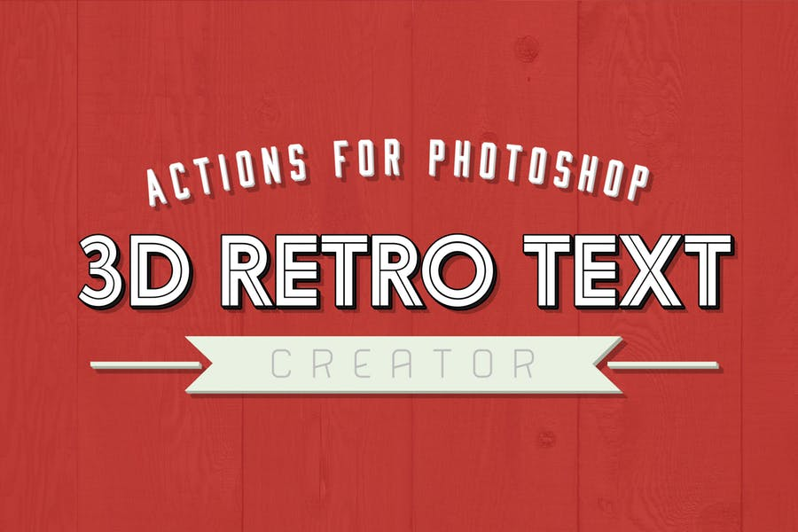 3D Retro Text Creator 1