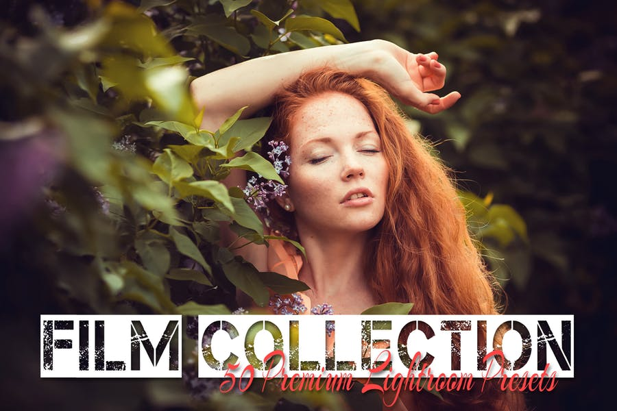 50 Premium Film Emulation Lightroom Presets