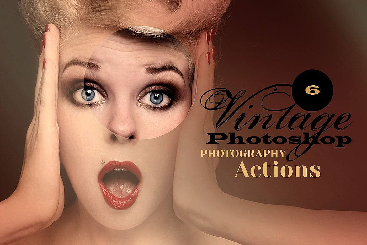 6 Vintage Photo Actions | free download