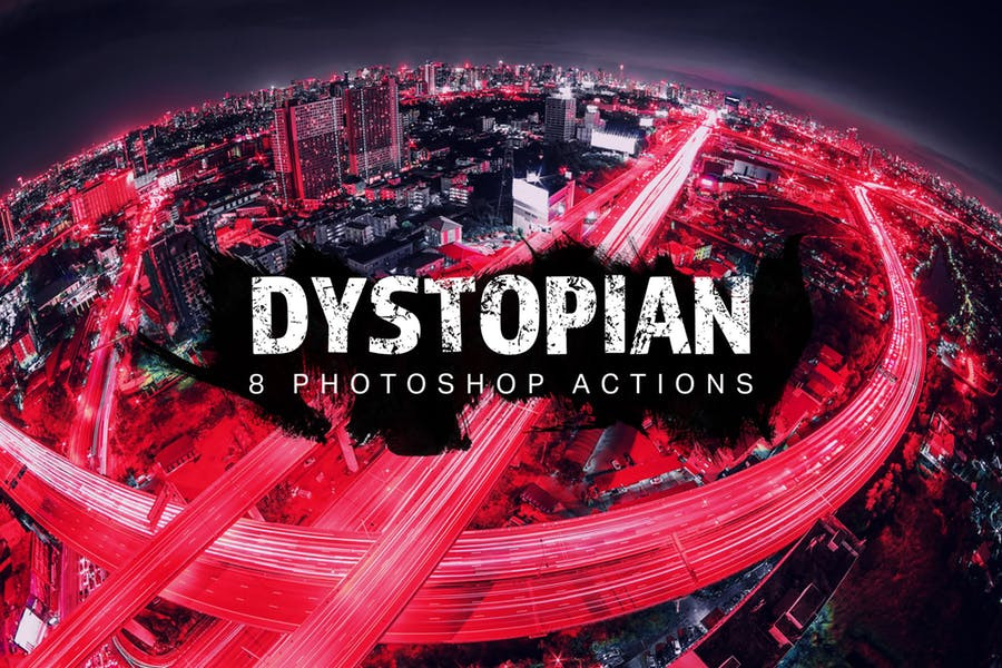 8 Dystopian Photoshop Actions