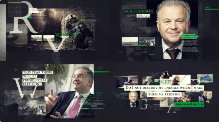 Political Promo TV- After Effects Video Templates | Free Download