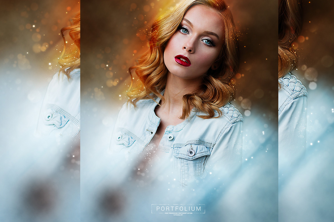 Portfolium - Post Processing Photoshop Action