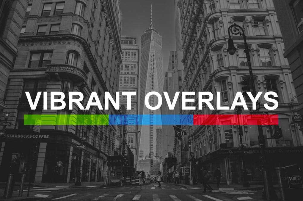 200 Vibrant Overlay Presets