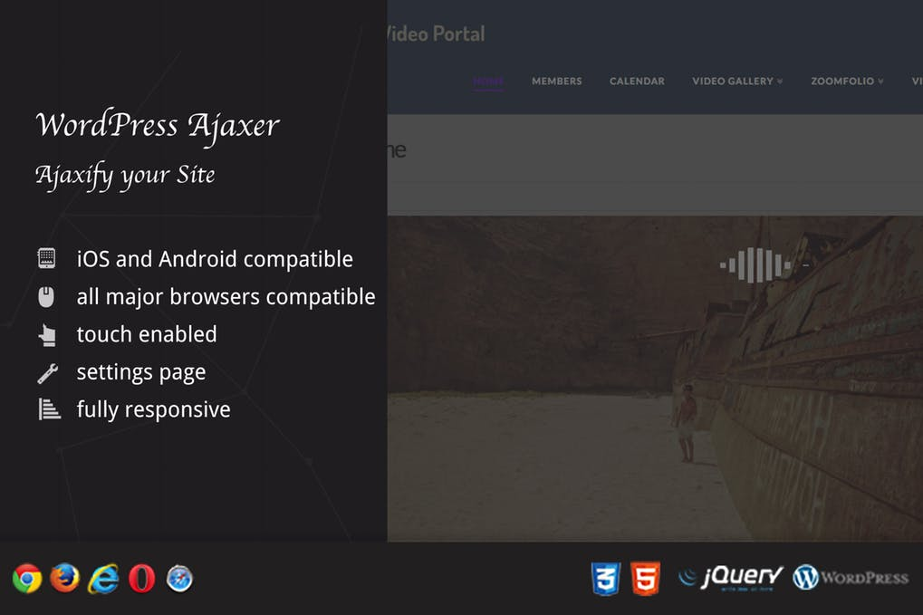 Ajaxer Ajaxify Your WordPress Site and Comments