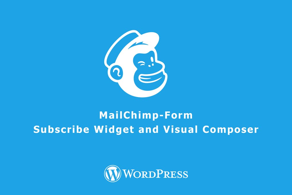 MailChimp Form Subscribe Widget and Visual Compo