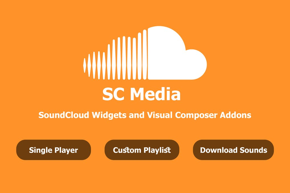 SC Media SoundCloud Widgets and Visual Composer free download