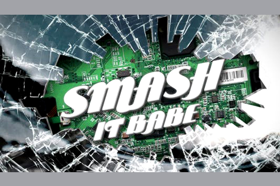 Smashing Logo or Title Reveal - Realistic 3D