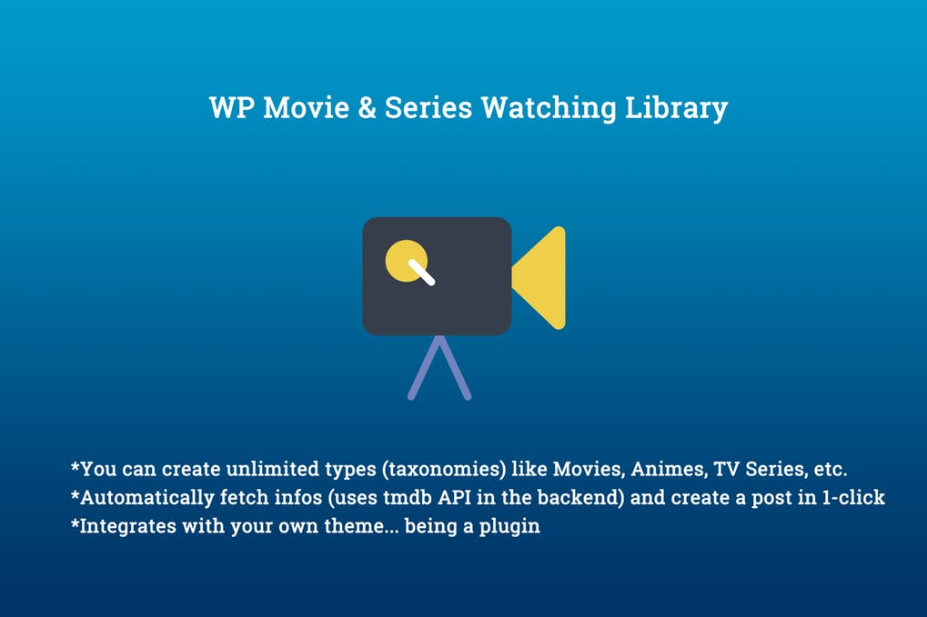 WP Movie Series Watching Library