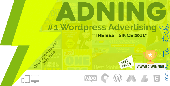 Adning Advertising - Professional, All In One Ad Manager for Wordpress