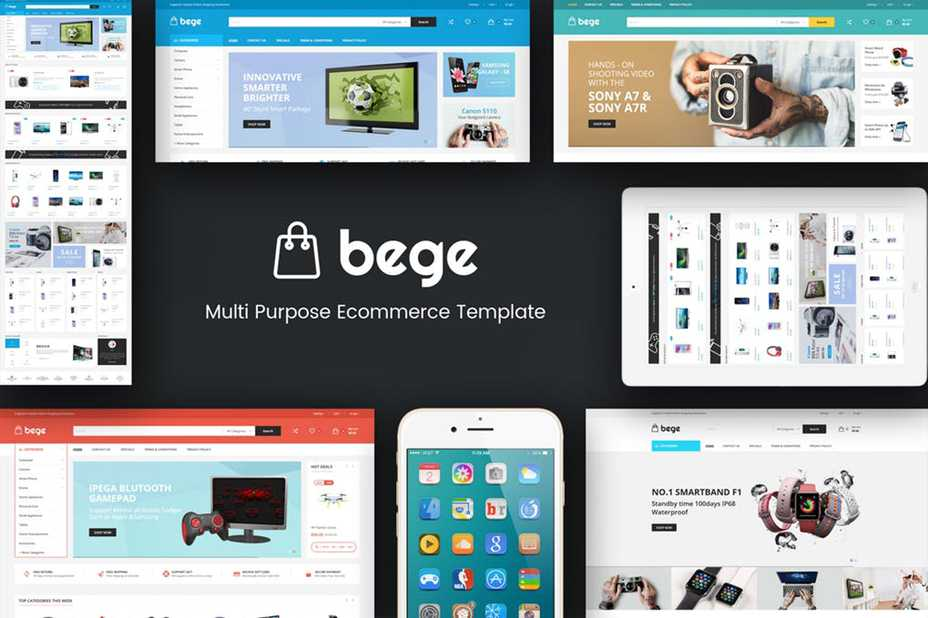 Bege Responsive WooCommerce WordPress Theme