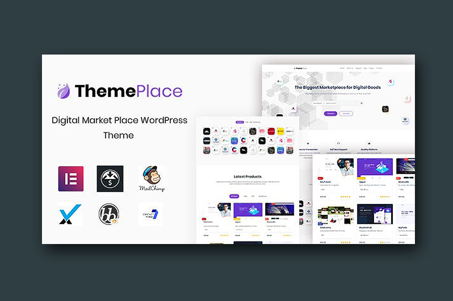 ThemePlace - Marketplace WordPress Theme 1.0.6 Free Download