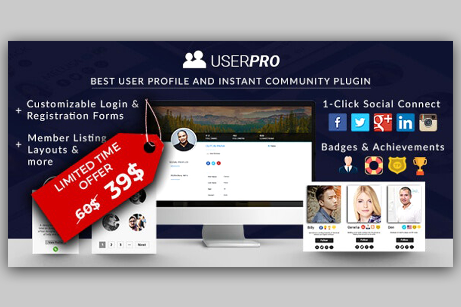 UserPro - Community and User Profile WordPress Plugin v4.9.31