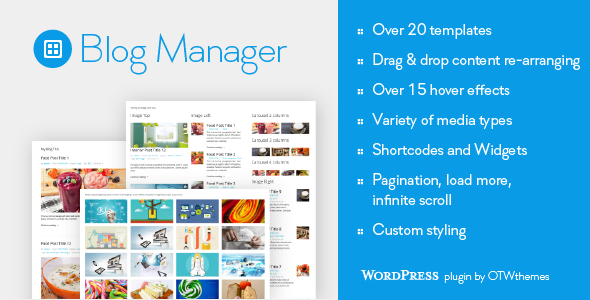 Blog Manager for WordPress - 1