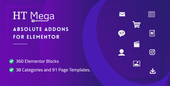 HT Mega Pro – Absolute Addons for Elementor Page Builder - 2