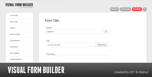 Visual Form Builder - Beautiful Forms In Seconds