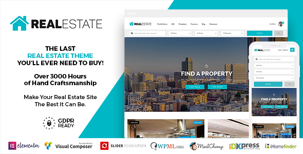 Real Estate 7 WordPress