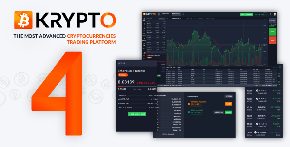 Krypto 4 - Live Trading, Advanced Data, Market Analysis, Watching List, Portfolio, Subscriptions ...