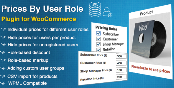 Prices By User Role for WooCommerce