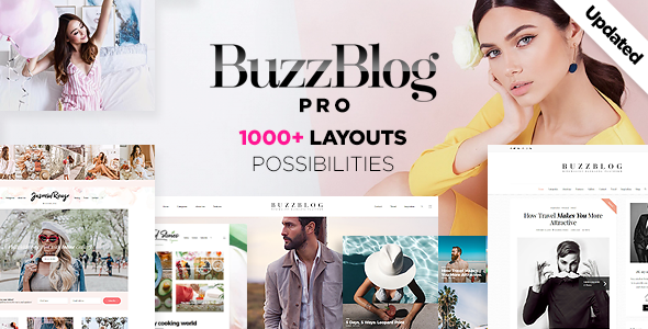 Buzz - Lifestyle Blog & Magazine WordPress Theme