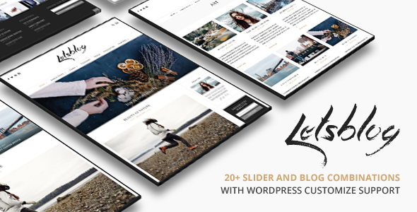 Lets Blog WordPress