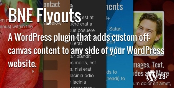Flyouts - Off Canvas Custom Content for WordPress