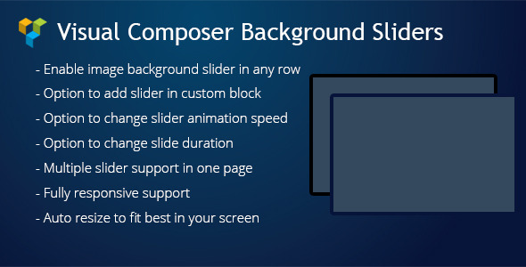 WPBakery Page Builder (Visual Composer) Background Sliders