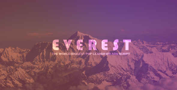 EVEREST - PHP Classified Ads Script