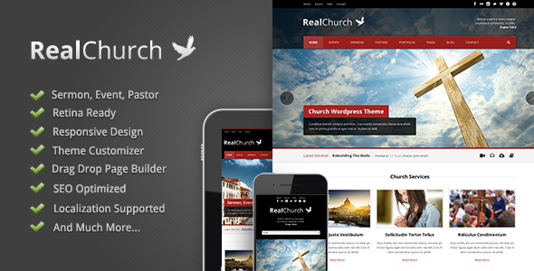 Real Church - Responsive Retina Ready Theme