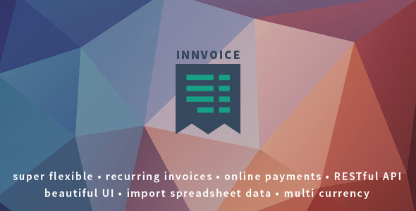 Innvoice - Flexible invoicing application with API