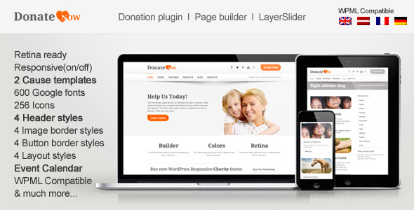 DonateNow | WordPress Theme for Charity - 2