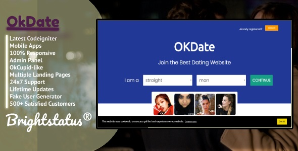 OkDate - Android dating and web date
