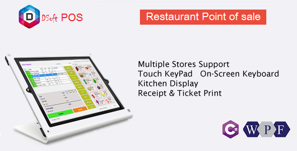 Rest POS - Restaurant Point of Sale WPF Application