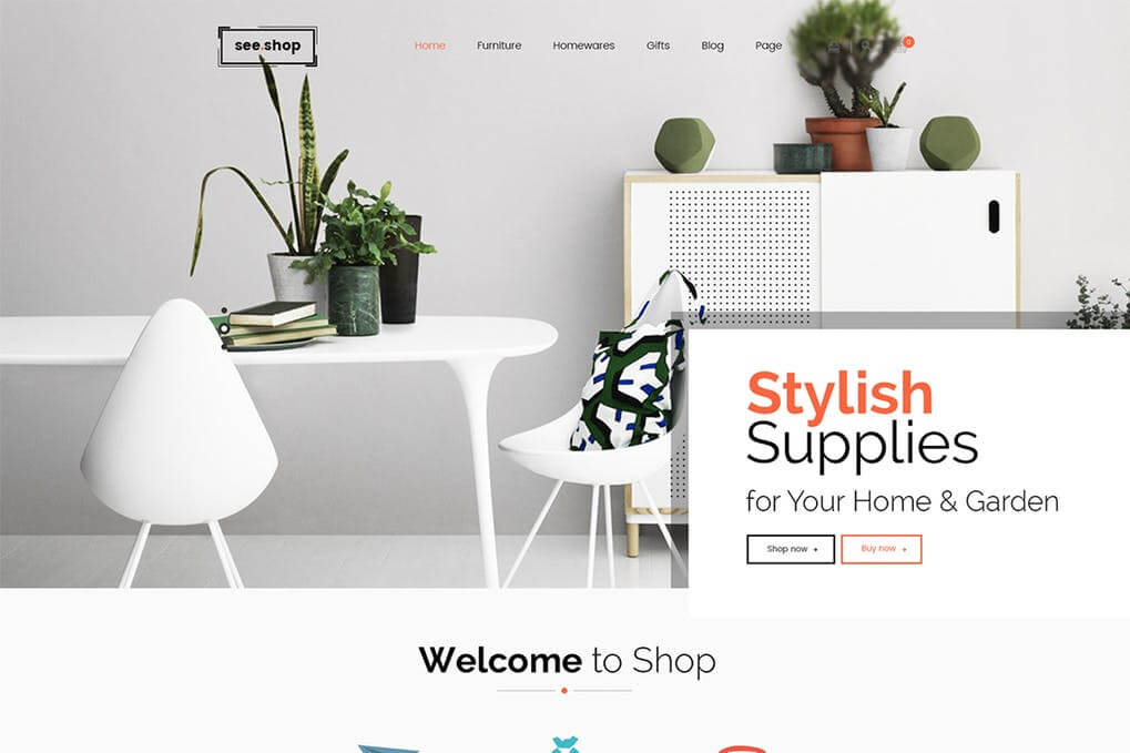 See Shop Furniture Interior RTL Responsive WooCo Free Download