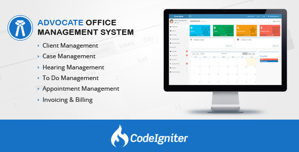 Advocate Office Management System