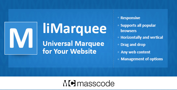 liMarquee - Horizontal and Vertical Scrolling of Text or Image or HTML Code