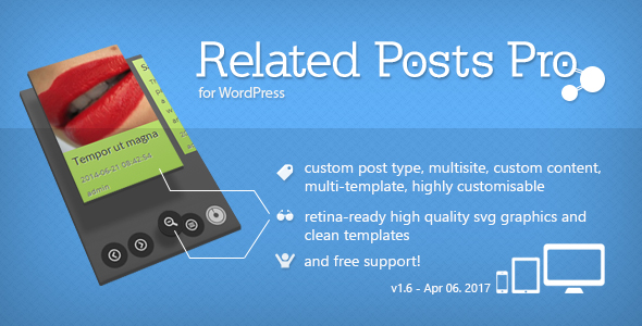 Related Posts Pro for WordPress - Related Content Plugin - 1