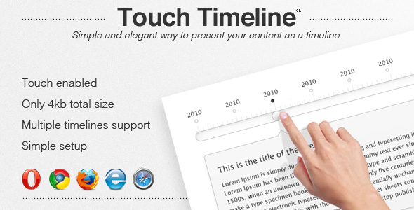 Touch Timeline