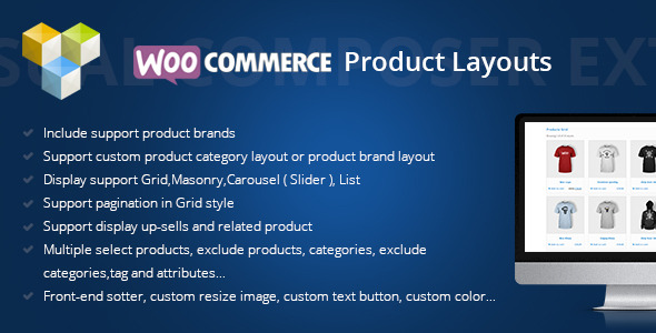 DHWCLayout - Woocommerce Products Layouts