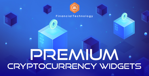 Premium Cryptocurrency Widgets | WordPress Crypto Plugin - 1