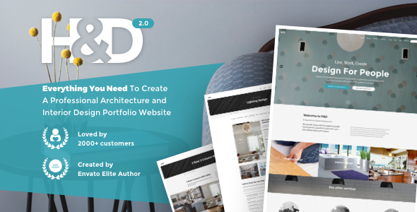 H&D - Interior Design WordPress Theme