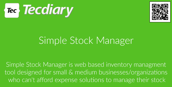 Simple Stock Manager