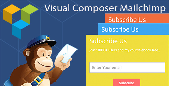 Visual Composer Mailchimp Addon