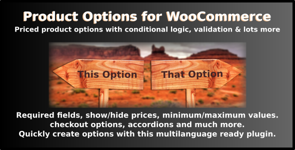 Product Options for WooCommerce - Gutenberg Compatible WordPress Plugin