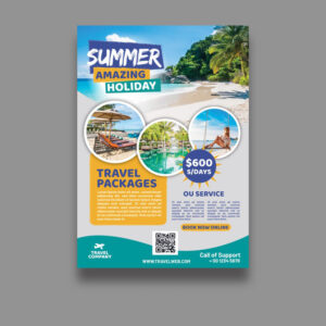 Travel-flyer-template freepik vector