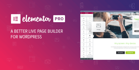 Elementor PRO v3.1.0 NULLED WordPress page builder